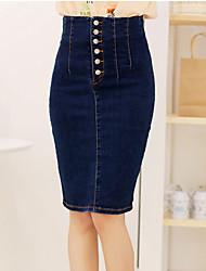 Women's Sexy Vintage High-waist Skirt