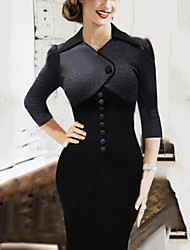 Women's Vantage Bodycon Patchwork Dress