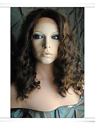 8inch-22inch 100% Indian Remy Human Hair Deep Wave Lace Wigs HLW002