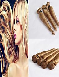 """3 pc lot 12 """"-24"""" vergine dei capelli ombre # 613 funmi capelli primavera prezzo di fabbrica brasiliana"""