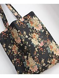 Frauensegeltuch Shopper Schultertasche - Multi-Color-