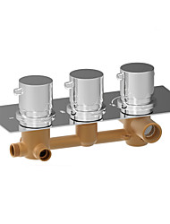 Concealed 3 Way Thermostatic Mixing Valve Wall Mounted