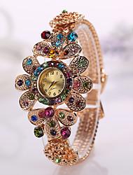 ambiente classico diamante imitazione di modo della vigilanza delle donne di stile elettronici vestito orologi da polso della signora
