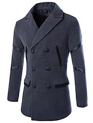 Wshgyy Men's Casual Long Sleeve Coats & Jackets