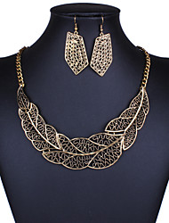 European and American retro metal noble lady necklace set 0207# filament lace effect