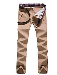 Men's Asymmetrical Pants , Acrylic / Cotton / Organic Cotton Sleeveless Casual / Work Fashion Winter / Fall IFADREAM