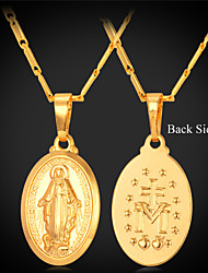 Golden Pendant Necklaces Alloy / Platinum Plated / Gold Plated Wedding / Party / Daily / Casual / Sports Jewelry
