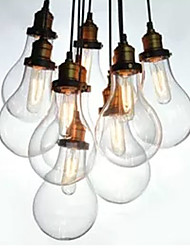 Chandelier Vintage Design Bulbs Included Living 10 Lights