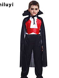 Halloween Masquerade Cosplay Costume Dress Child Vampire Costume Cloak Clothes cos