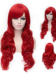 красивая высокое качество высокая температура шелка моды девушка подготовит парик
