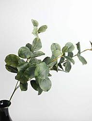 """27.56 """"plante artificielle trois branches de feuilles de chêne 1 bouquet"""