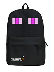 Minecraft backpack Enderman day pack New School bag Nylon rucksack Game daypack 290W * 130D * 450Hmm