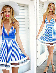 KuGo    Women's Sexy/Beach/Casual Dresses (Polyester)