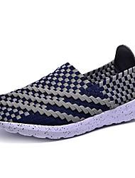 Running Men's Shoes Canvas Blue