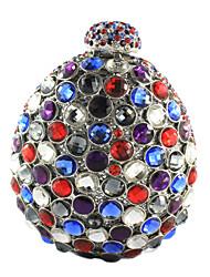 Women's Rhinestone Glass Party Clutch Bag