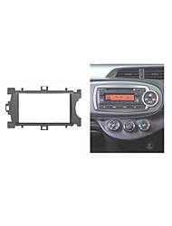 carro fascia rádio para Toyota Yaris vitz tablier estéreo auto-rádio instalar ajuste kit traço dvd cd guarnição