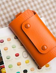 unisex da pu cartão utilização professioanl&ID titular - rosa / azul / verde / amarelo / laranja / marrom / vermelho / preto