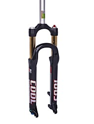 DFS COOL-R  Cycling/Mountain Bike Forks Aluminium Waterproof/Adjustable AIR Suspension Forks Black/White