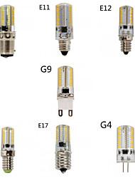 1 kpl E14/G9/G4/E12/E17 8.0 W 80 SMD 3014 720 LM Lämmin valkoinen/Kylmä valkoinen Himmennettävä Maissilamput AC 220-240/AC 110-130 V