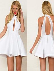 NUNEU   Women's Sexy Straps Dresses (Cotton)
