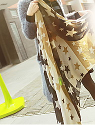 Women Fashion Pentagonal Star Big Scarf Shawls