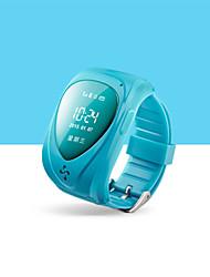 gps relógio de pulseira de rastreador para crianças aplicativo móvel google map alarme sos GSM GPRS perseguidor