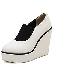 Women's Shoes Wedge Heel Wedges Pumps/Heels Casual Black/White