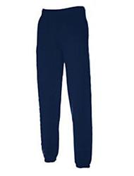 Men's Casual/Work/Formal/Sport/Plus Sizes Pure Sweatpants Pants (Cotton Blend)