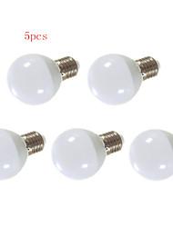 9W E26/E27 Круглые LED лампы G80 24 SMD 5630 850 lm Тёплый белый / Холодный белый Декоративная AC 220-240 V 5 шт.