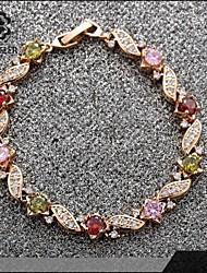 Sjeweler Girls Lady's Engagement Colorful Zircon Brecelet