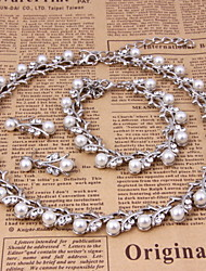 Classic Jewelry Set (necklace) (earrings) (Bracelet)