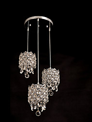 Pendant Lights Crystal Traditional/Classic Living Room/Dining Room/Study Room/Office/Game Room/Hallway Crystal