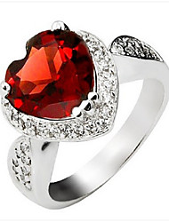 Volcano 925 Silver SR0092G Natural Garnet Ring Jewelry Gifts
