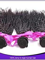 Peruvian Deep wave 3 Bundles Curly Weave Human Hair Extensions Peruvian Kinky Curly Virgin Hair