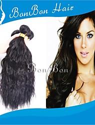 cheveux indiens vierges 1pcs d'onde naturelle