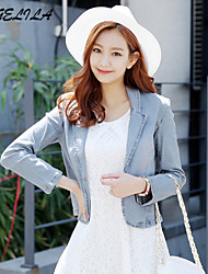 Women's  Short Jeans  Blazer