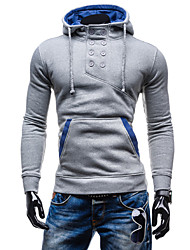 Men's Long Sleeve Hoodie & Sweatshirt , Cotton Pure
