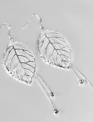 S925 Silver Drop Earring Design for Women Bead Drop Design Earring Wedding & Engagement Jewelry