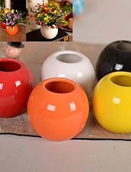 cerâmica flor vaso de flor artificial arranjo casa / decoração do casamento
