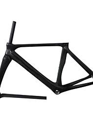 NEASTY Cadre pour la route Entièrement en carbone Cyclisme Cadre 700C Brillant Éclat UD 50/53cm cm 19.7/20.9 pouce