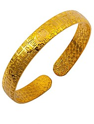 24K gold plating  100 blessing Bracelet