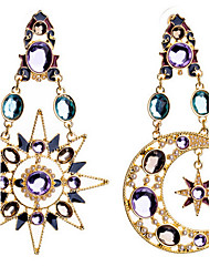 """New Arrival Hot Selling High Quality Fashional Sun Moon Earrings"""