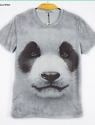 2015 Men's Summer Fashion 3D T-Shirt Print Animals Sweater Shirt Hot Hip-hop Tops(M-XXL)