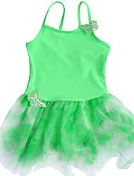 Vestidos ( Verde , Spandex/Poliéster , Ballet ) - Ballet - para Niños