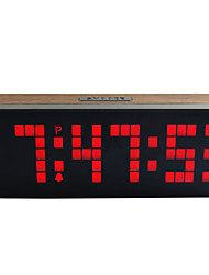 CH KOSDA Large Wall LED Alarm Clock Digital Alarm Clock Countdown Snooze Wall Desk Room Kids Bedside Alarm Clock Watch