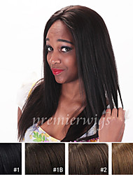 Cheap Grade 7A Light Yaki Straight Remy Indian 100% Human Hair Full Lace Wigs