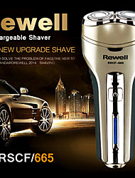REWELL RSCF665 Two Knife Head Rechargeable Electric Razor