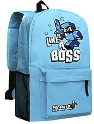 Minecraft backpack Enderman day pack New School bag Nylon rucksack Game daypack 045