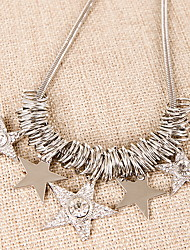Bright Stars Full Drill Short Necklace