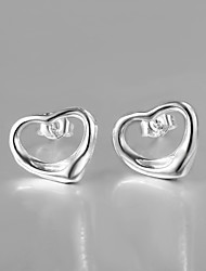 2015 Hottest Fashion Italy Style Silver Plated Bead Design Stud Earrings for Lady Fashion Jewelry
